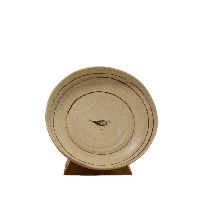 Ceramic Bird Bowl Top View