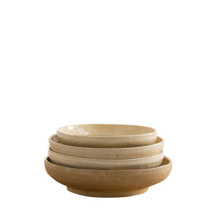 Ceramic Bird Bowl Side View
