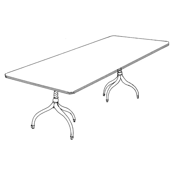 Cloverleaf Custom Dining Table