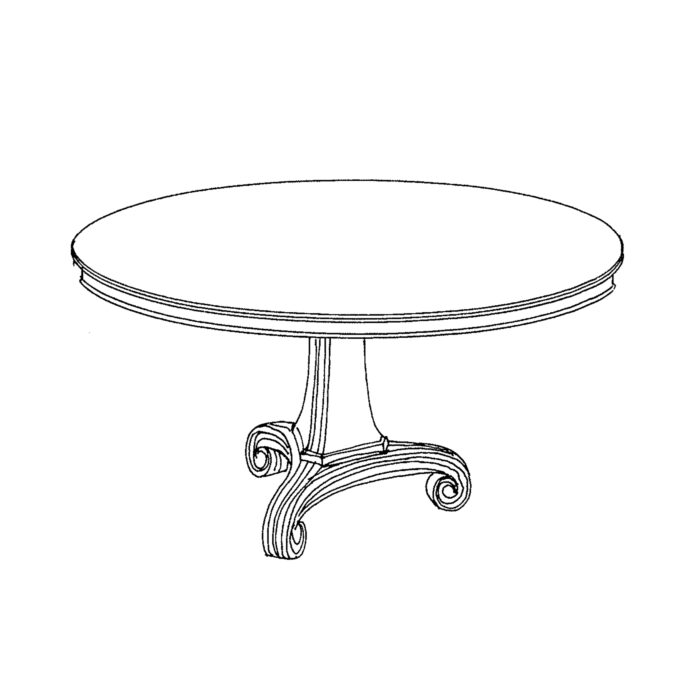 Cummings Side Table Custom 1