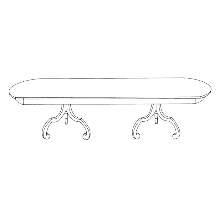 La Mer Table Custom 1