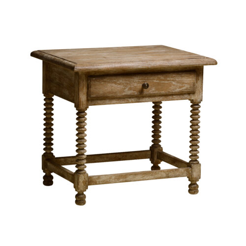 Louis XIII Side Table Angle