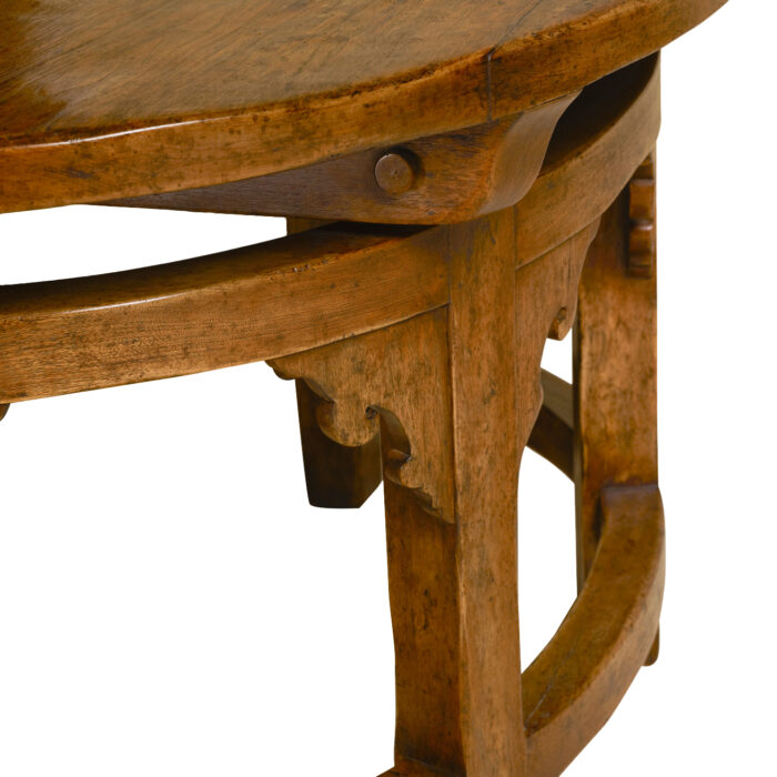 Goult Oval Hall Table Close Up