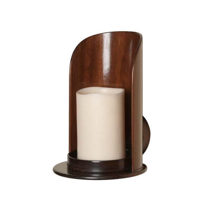 Ruskin Sconce Angled View