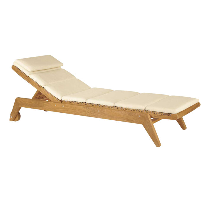 Cats Cradle Chaise Angle With Cushion