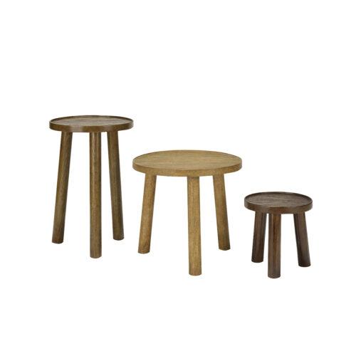 Maiden Table Set - Walnut